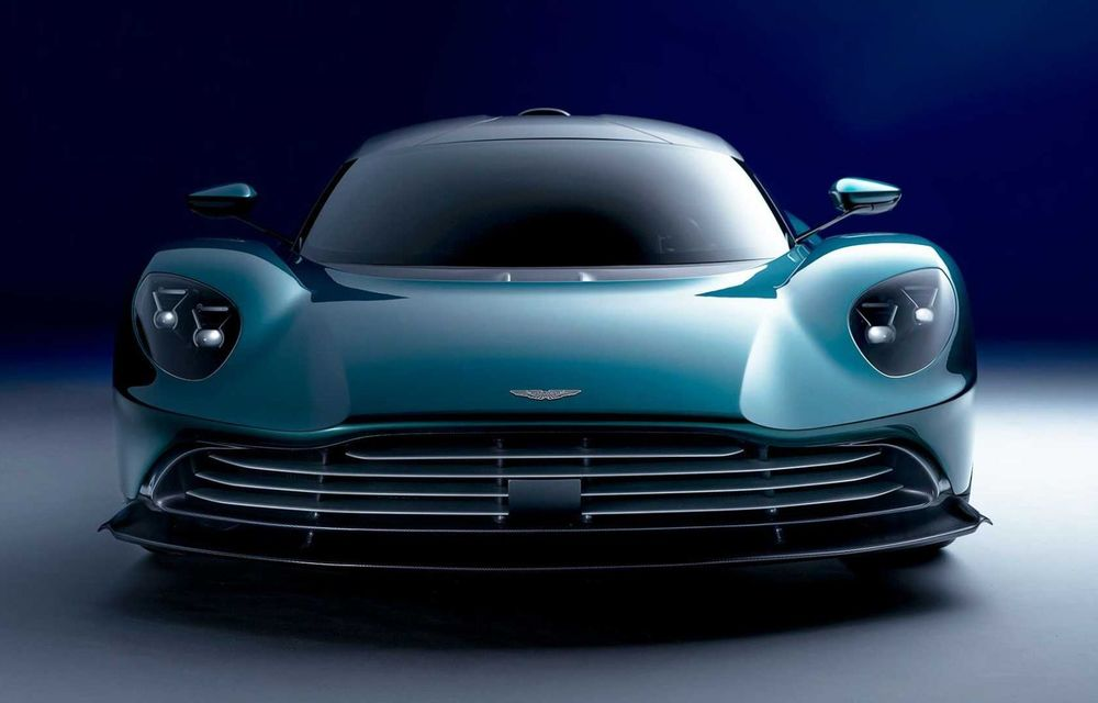 Versiunea de producție Aston Martin Valhalla: motor V8, două unități electrice și 950 CP - Poza 4