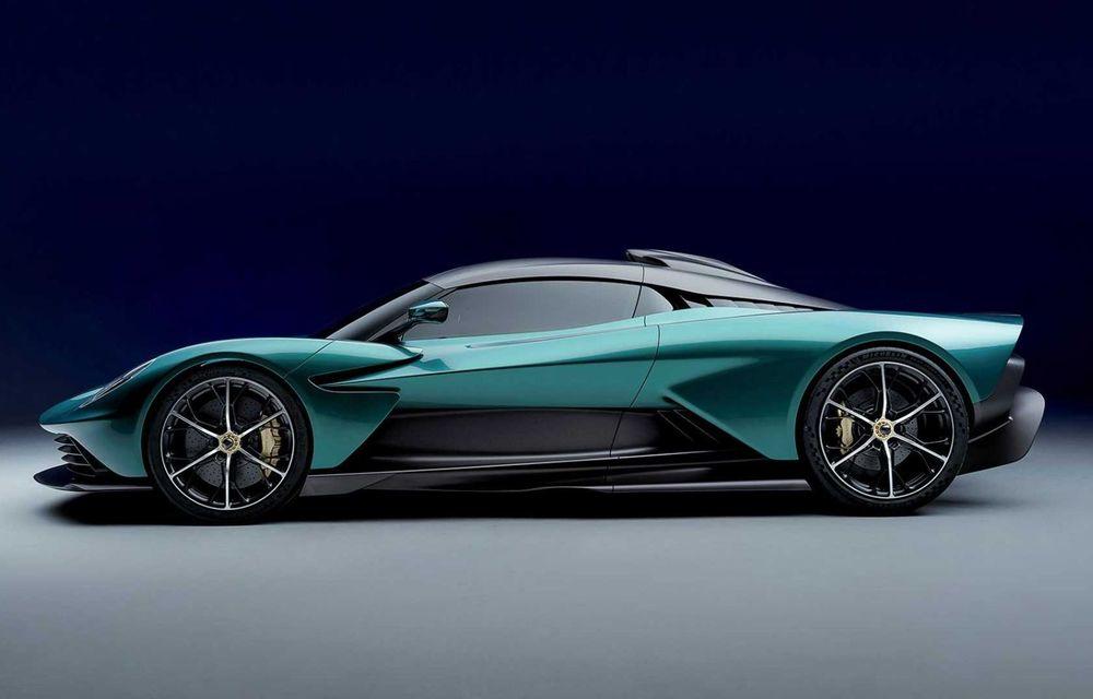 Versiunea de producție Aston Martin Valhalla: motor V8, două unități electrice și 950 CP - Poza 2