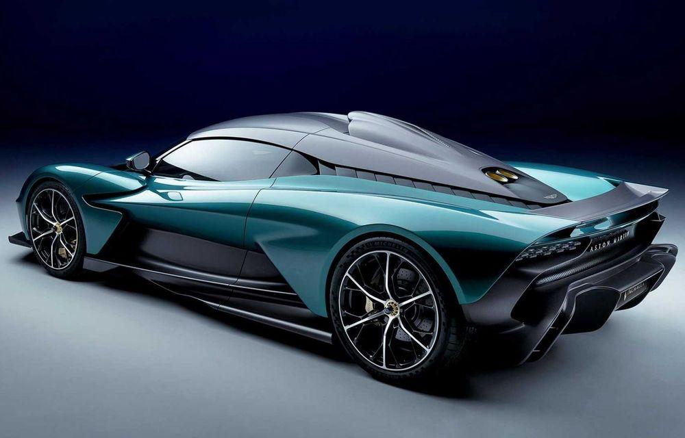 Versiunea de producție Aston Martin Valhalla: motor V8, două unități electrice și 950 CP - Poza 3
