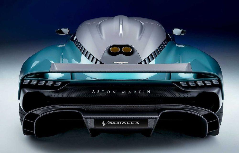 Versiunea de producție Aston Martin Valhalla: motor V8, două unități electrice și 950 CP - Poza 5