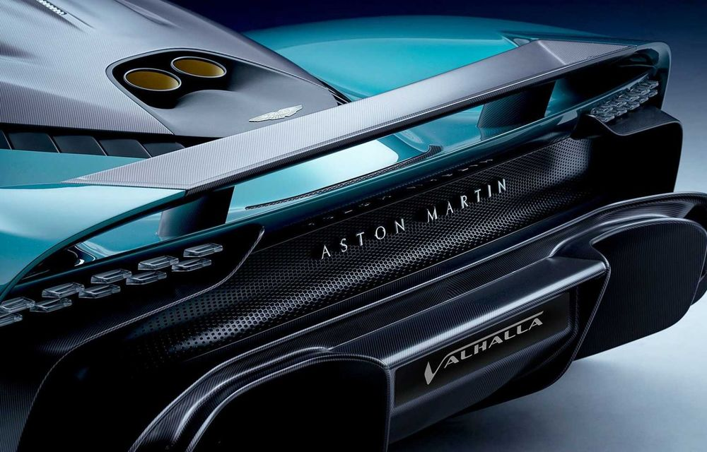 Versiunea de producție Aston Martin Valhalla: motor V8, două unități electrice și 950 CP - Poza 7