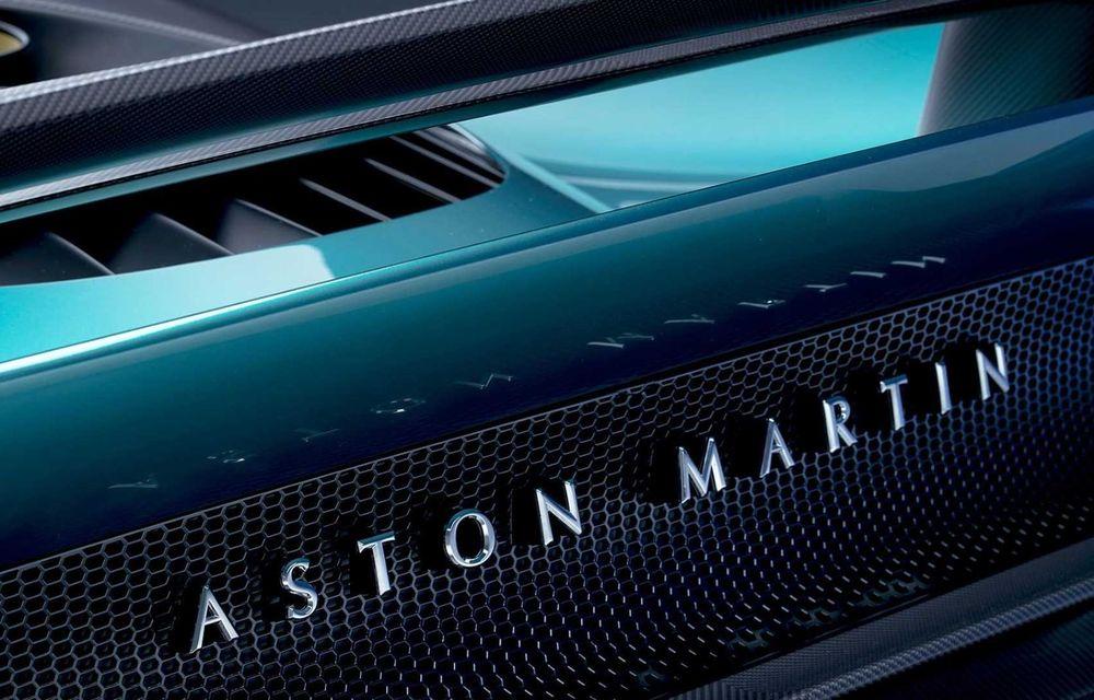 Versiunea de producție Aston Martin Valhalla: motor V8, două unități electrice și 950 CP - Poza 8
