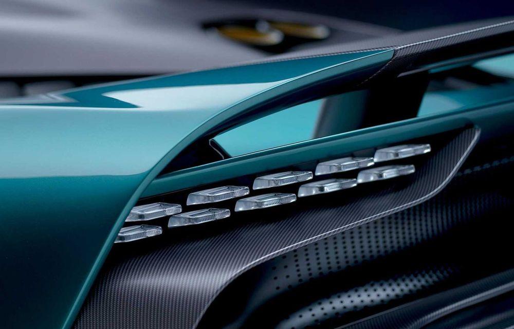 Versiunea de producție Aston Martin Valhalla: motor V8, două unități electrice și 950 CP - Poza 9