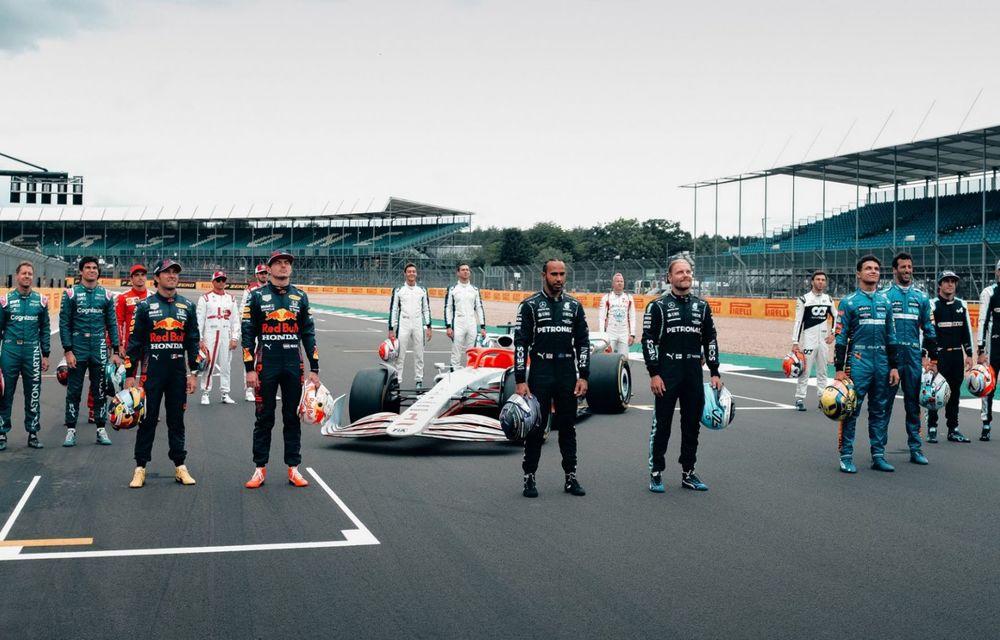 Primele imagini cu monopostul de Formula 1 din 2022: aerodinamică nouă și mai mult biocombustibil - Poza 2