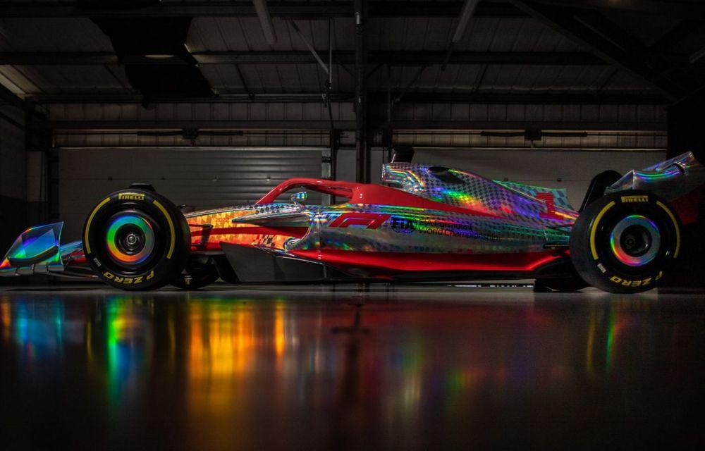 Primele imagini cu monopostul de Formula 1 din 2022: aerodinamică nouă și mai mult biocombustibil - Poza 5