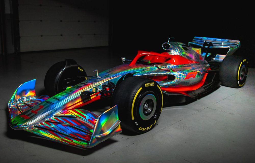 Primele imagini cu monopostul de Formula 1 din 2022: aerodinamică nouă și mai mult biocombustibil - Poza 6