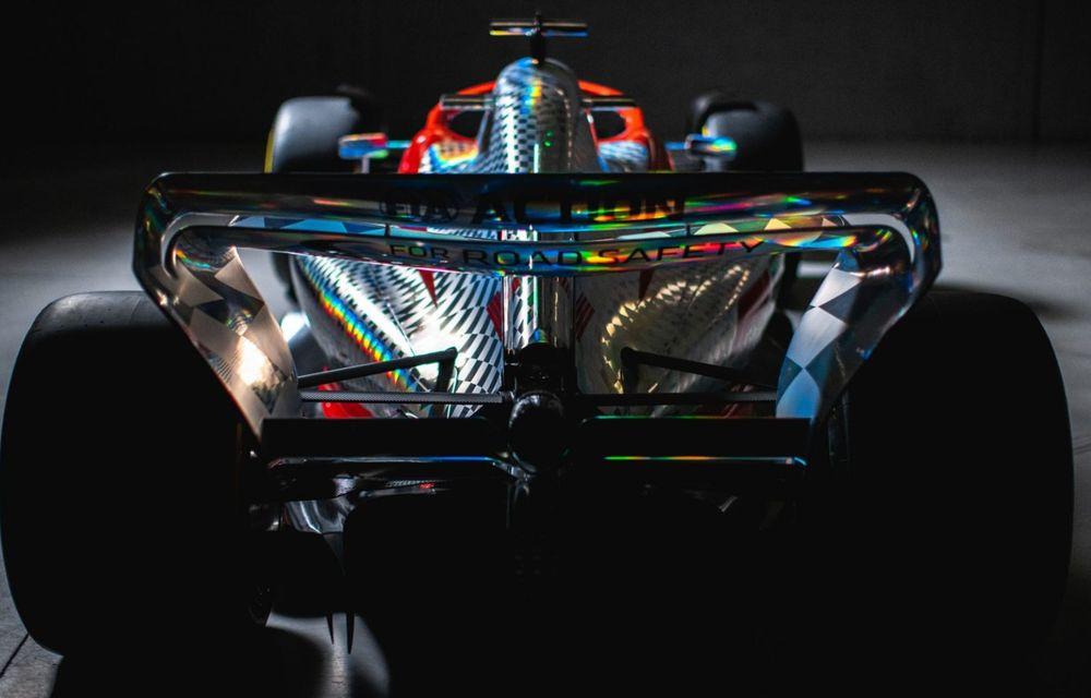 Primele imagini cu monopostul de Formula 1 din 2022: aerodinamică nouă și mai mult biocombustibil - Poza 8