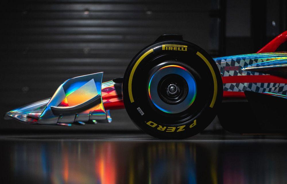 Primele imagini cu monopostul de Formula 1 din 2022: aerodinamică nouă și mai mult biocombustibil - Poza 10