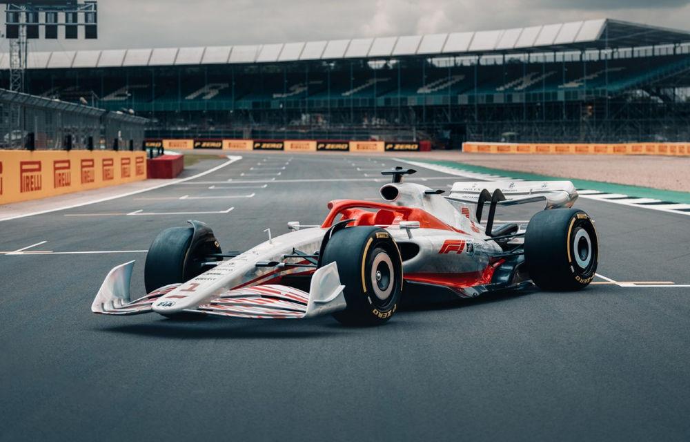 Primele imagini cu monopostul de Formula 1 din 2022: aerodinamică nouă și mai mult biocombustibil - Poza 1