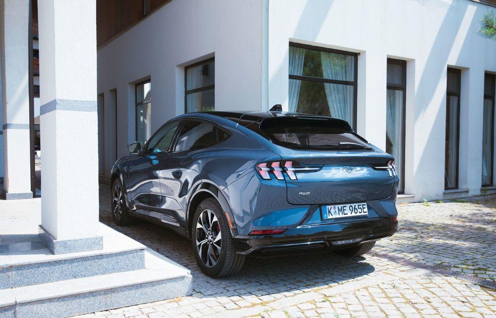 8 lucruri pe care trebuie să le știi despre noul Ford Mustang Mach-E: am fost primii jurnaliști care au condus mașina în România - Poza 2