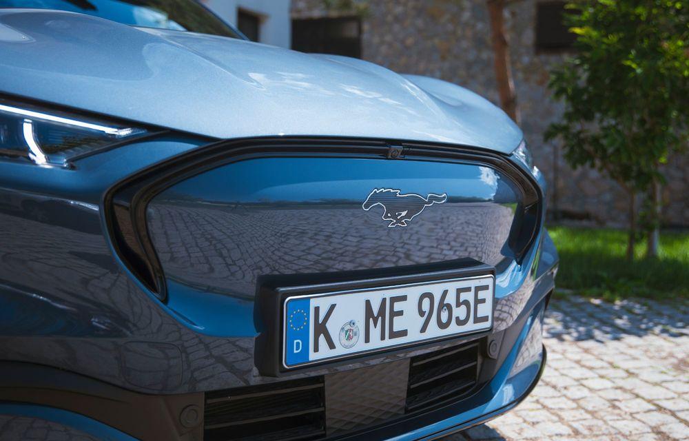 8 lucruri pe care trebuie să le știi despre noul Ford Mustang Mach-E: am fost primii jurnaliști care au condus mașina în România - Poza 12