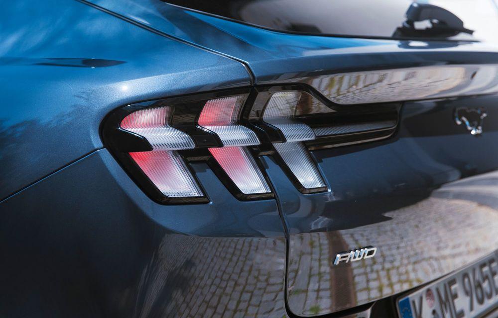 8 lucruri pe care trebuie să le știi despre noul Ford Mustang Mach-E: am fost primii jurnaliști care au condus mașina în România - Poza 15