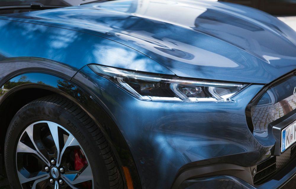 8 lucruri pe care trebuie să le știi despre noul Ford Mustang Mach-E: am fost primii jurnaliști care au condus mașina în România - Poza 16