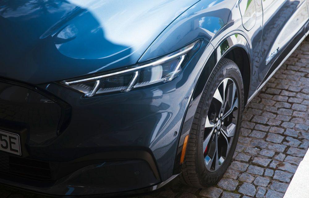 8 lucruri pe care trebuie să le știi despre noul Ford Mustang Mach-E: am fost primii jurnaliști care au condus mașina în România - Poza 19