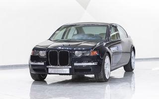 BMW ZBF 7er: conceptul de lux al anilor '90, realizat manual, care a prezis grila verticală