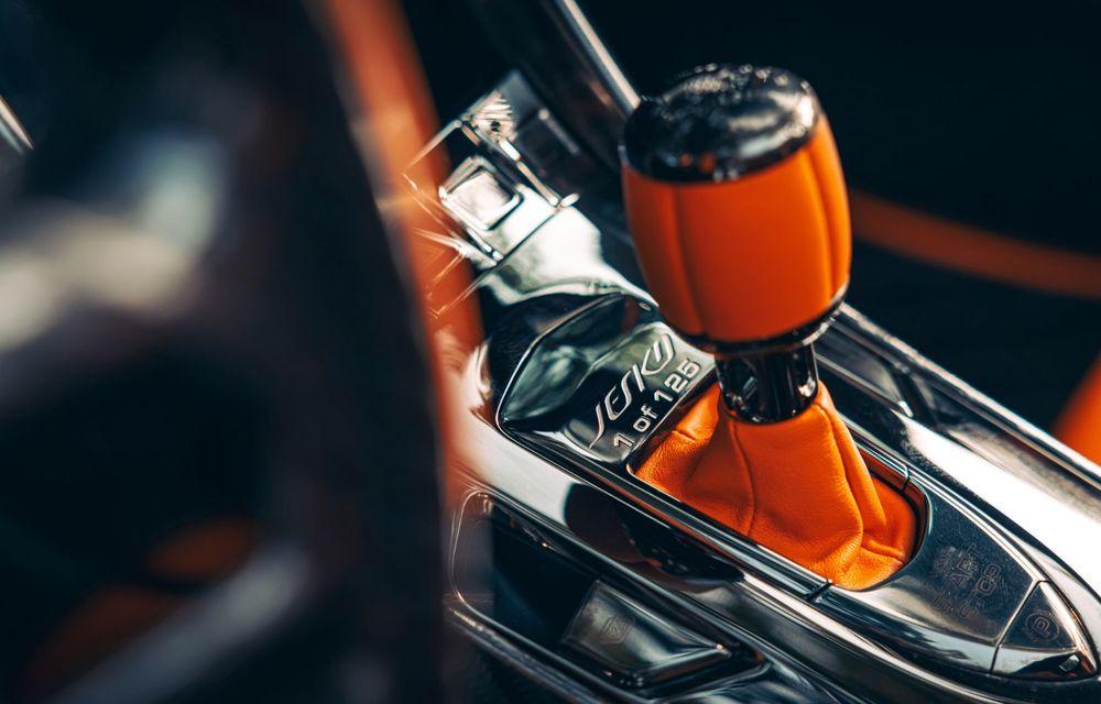 Startul producției pentru Koenigsegg Jesko. Imagini cu primul exemplar pre-serie - Poza 10