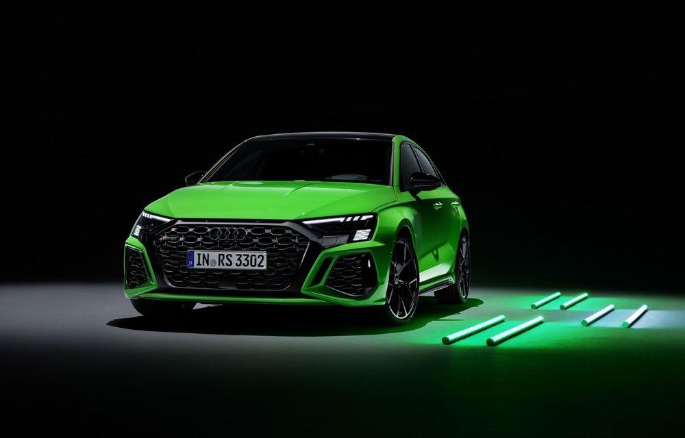 Noua generație Audi RS3 Sportback și Sedan: 400 CP și sistem de vectorizare a cuplului - Poza 2
