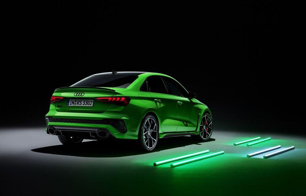 Noua generație Audi RS3 Sportback și Sedan: 400 CP și sistem de vectorizare a cuplului - Poza 3