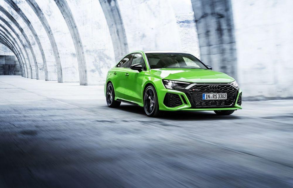 Noua generație Audi RS3 Sportback și Sedan: 400 CP și sistem de vectorizare a cuplului - Poza 5