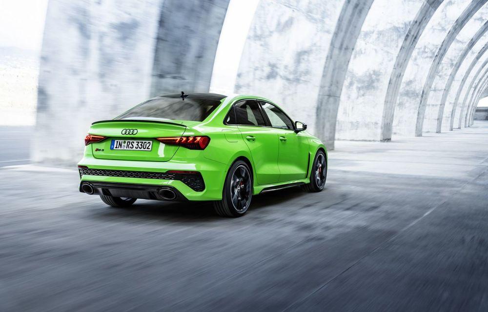 Noua generație Audi RS3 Sportback și Sedan: 400 CP și sistem de vectorizare a cuplului - Poza 6