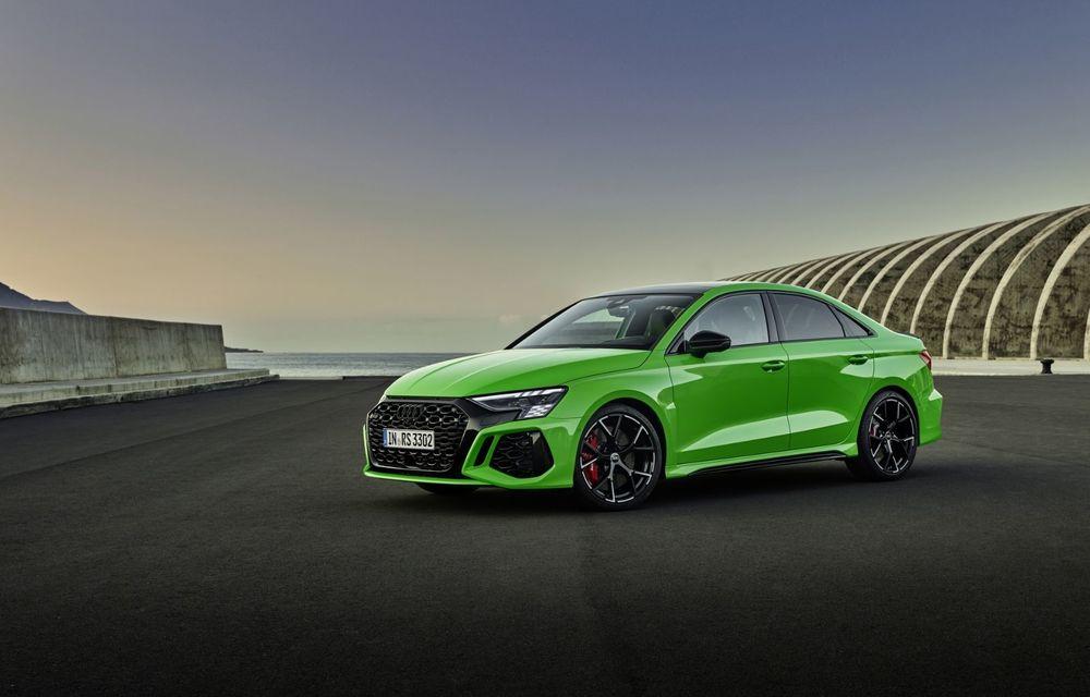 Noua generație Audi RS3 Sportback și Sedan: 400 CP și sistem de vectorizare a cuplului - Poza 7