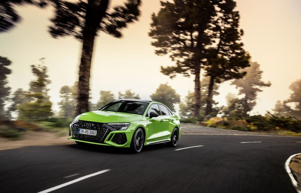 Noua generație Audi RS3 Sportback și Sedan: 400 CP și sistem de vectorizare a cuplului - Poza 9