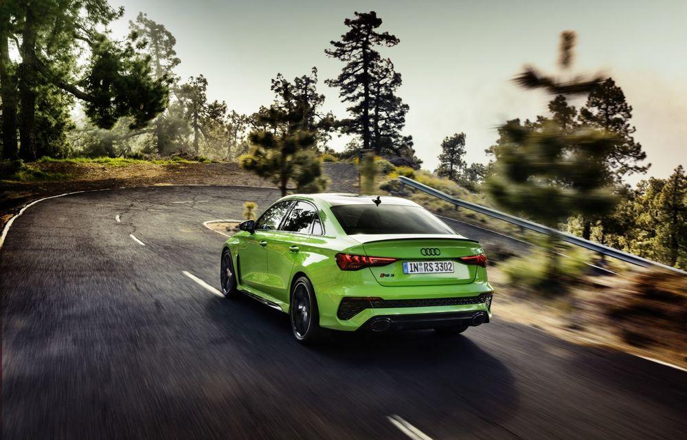 Noua generație Audi RS3 Sportback și Sedan: 400 CP și sistem de vectorizare a cuplului - Poza 10