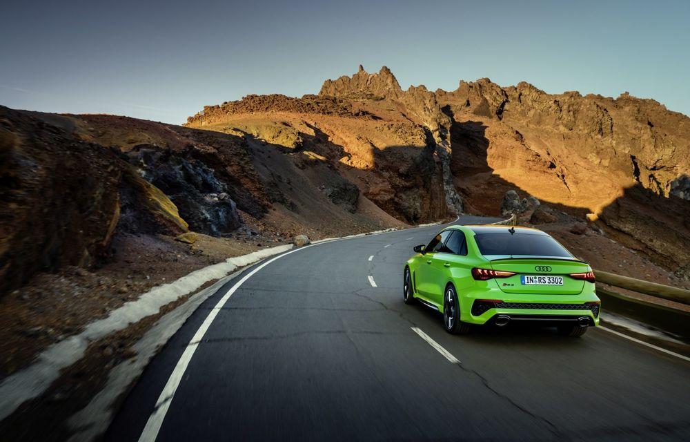 Noua generație Audi RS3 Sportback și Sedan: 400 CP și sistem de vectorizare a cuplului - Poza 11