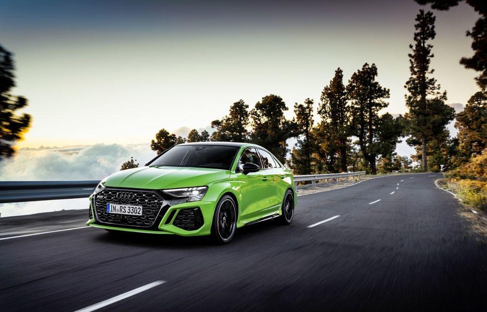 Noua generație Audi RS3 Sportback și Sedan: 400 CP și sistem de vectorizare a cuplului - Poza 12