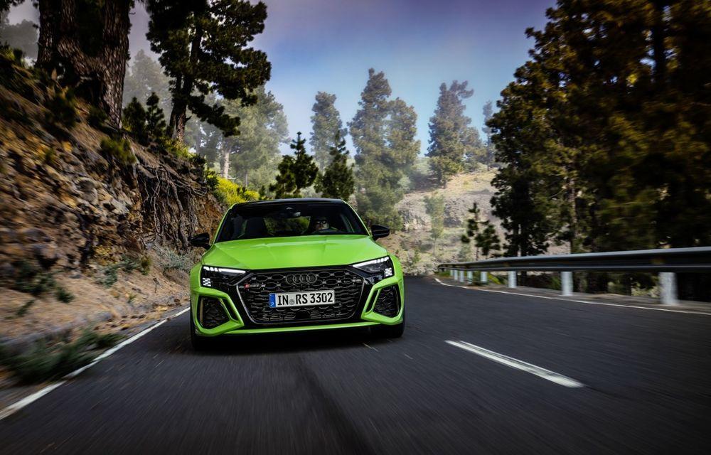 Noua generație Audi RS3 Sportback și Sedan: 400 CP și sistem de vectorizare a cuplului - Poza 13