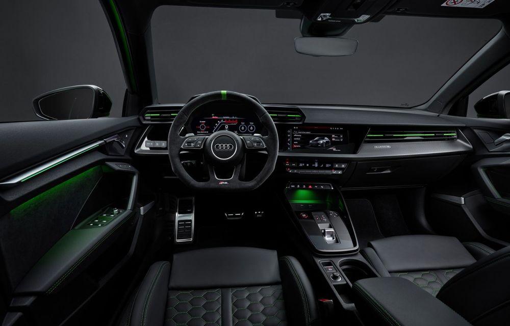Noua generație Audi RS3 Sportback și Sedan: 400 CP și sistem de vectorizare a cuplului - Poza 23