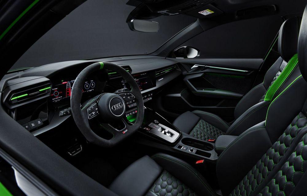 Noua generație Audi RS3 Sportback și Sedan: 400 CP și sistem de vectorizare a cuplului - Poza 25