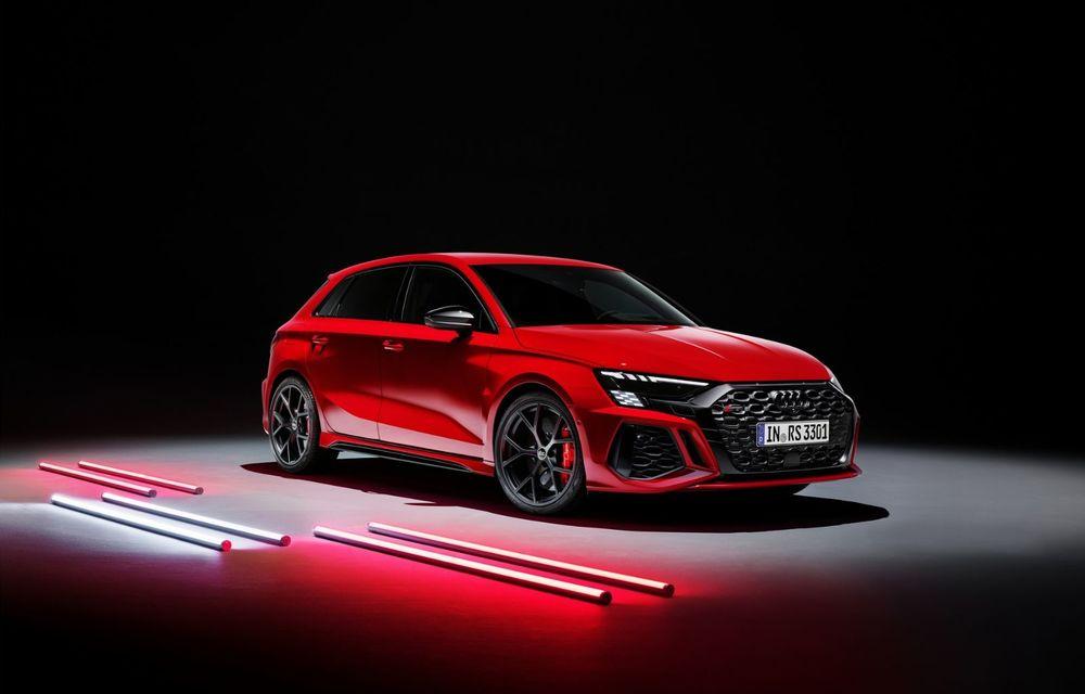 Noua generație Audi RS3 Sportback și Sedan: 400 CP și sistem de vectorizare a cuplului - Poza 14