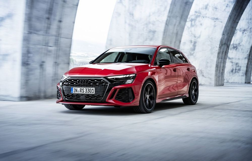 Noua generație Audi RS3 Sportback și Sedan: 400 CP și sistem de vectorizare a cuplului - Poza 15