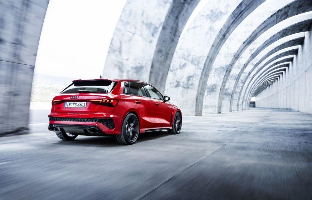 Noua generație Audi RS3 Sportback și Sedan: 400 CP și sistem de vectorizare a cuplului - Poza 16