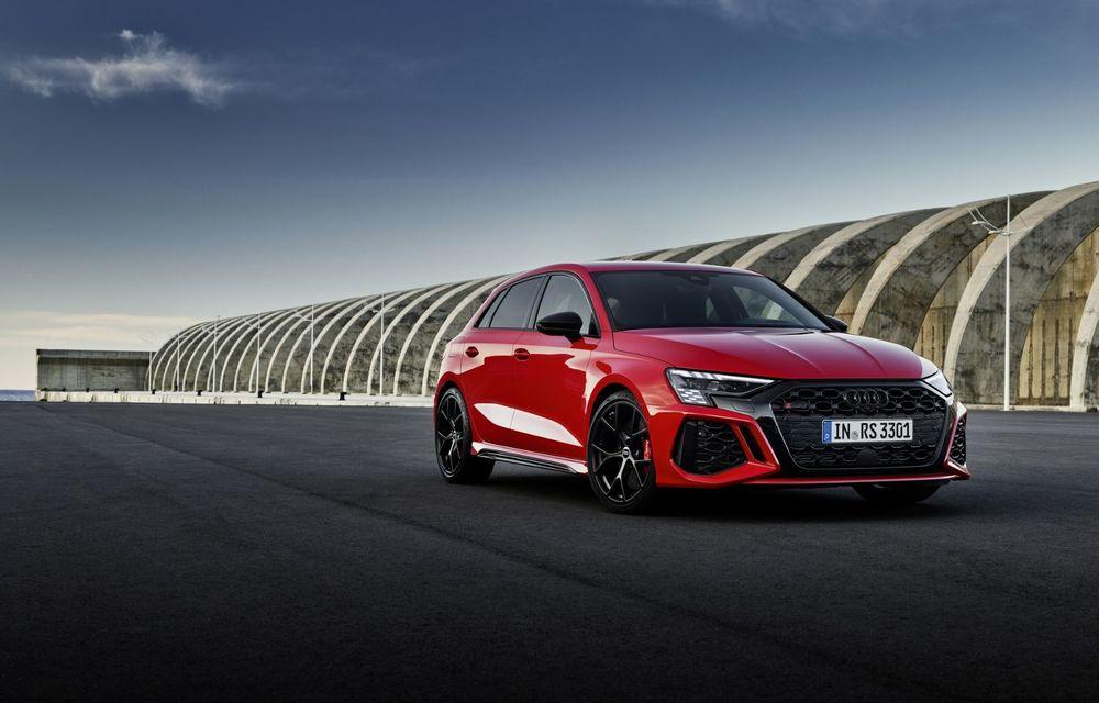 Noua generație Audi RS3 Sportback și Sedan: 400 CP și sistem de vectorizare a cuplului - Poza 17