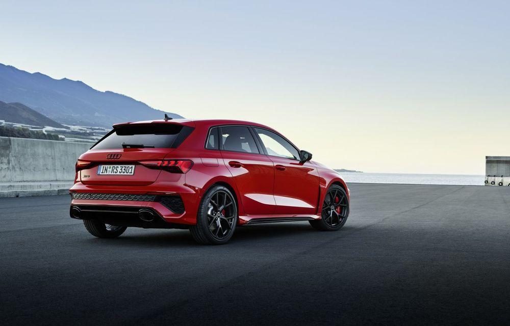 Noua generație Audi RS3 Sportback și Sedan: 400 CP și sistem de vectorizare a cuplului - Poza 18