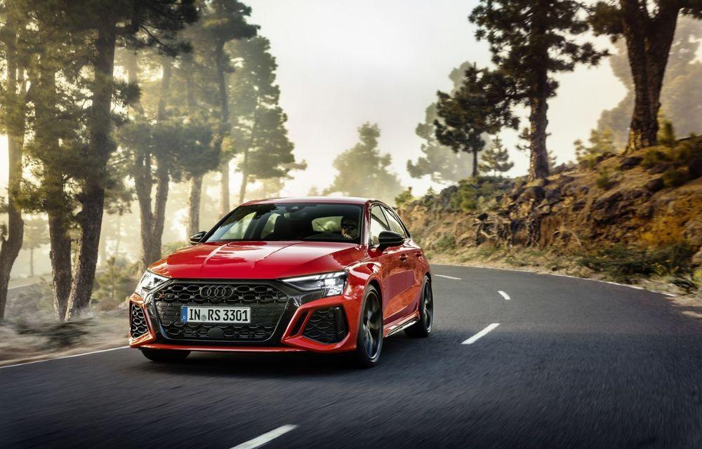 Noua generație Audi RS3 Sportback și Sedan: 400 CP și sistem de vectorizare a cuplului - Poza 19