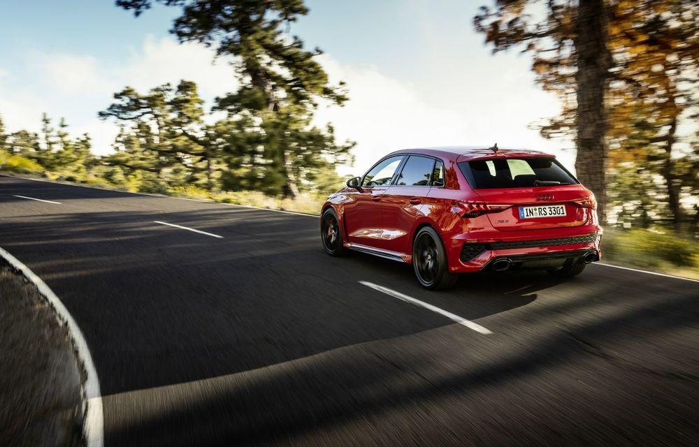 Noua generație Audi RS3 Sportback și Sedan: 400 CP și sistem de vectorizare a cuplului - Poza 20