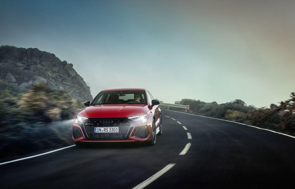 Noua generație Audi RS3 Sportback și Sedan: 400 CP și sistem de vectorizare a cuplului - Poza 21