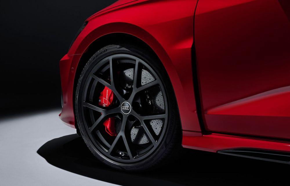 Noua generație Audi RS3 Sportback și Sedan: 400 CP și sistem de vectorizare a cuplului - Poza 29