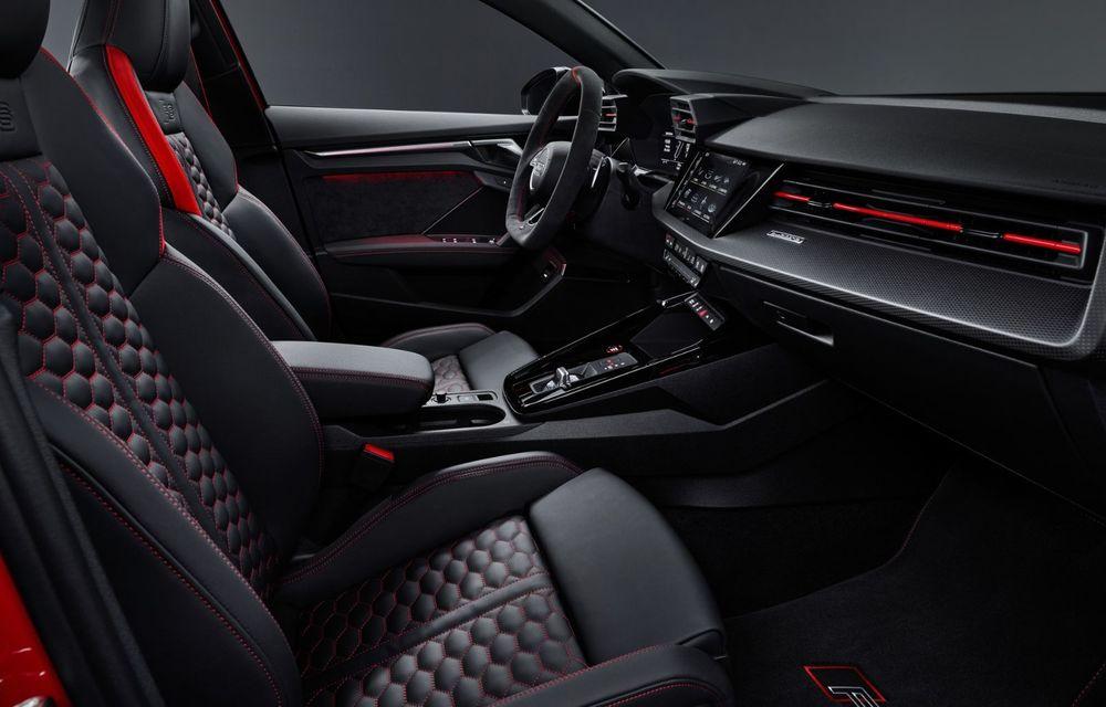 Noua generație Audi RS3 Sportback și Sedan: 400 CP și sistem de vectorizare a cuplului - Poza 26