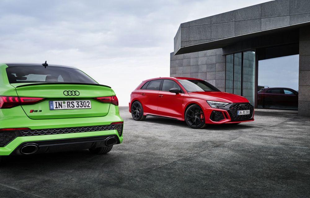 Noua generație Audi RS3 Sportback și Sedan: 400 CP și sistem de vectorizare a cuplului - Poza 22