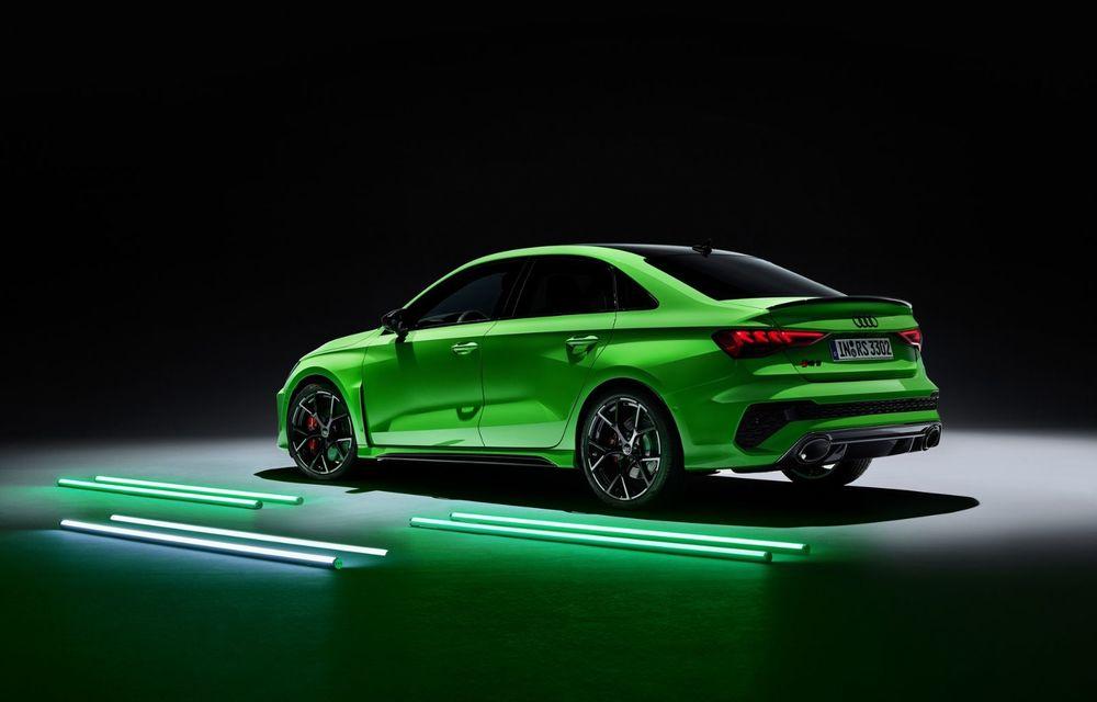 Noua generație Audi RS3 Sportback și Sedan: 400 CP și sistem de vectorizare a cuplului - Poza 4