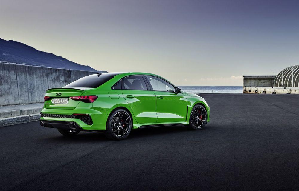 Noua generație Audi RS3 Sportback și Sedan: 400 CP și sistem de vectorizare a cuplului - Poza 8
