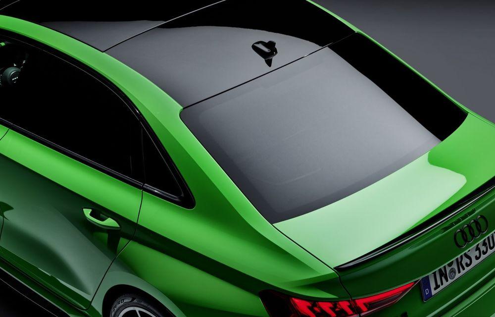 Noua generație Audi RS3 Sportback și Sedan: 400 CP și sistem de vectorizare a cuplului - Poza 28