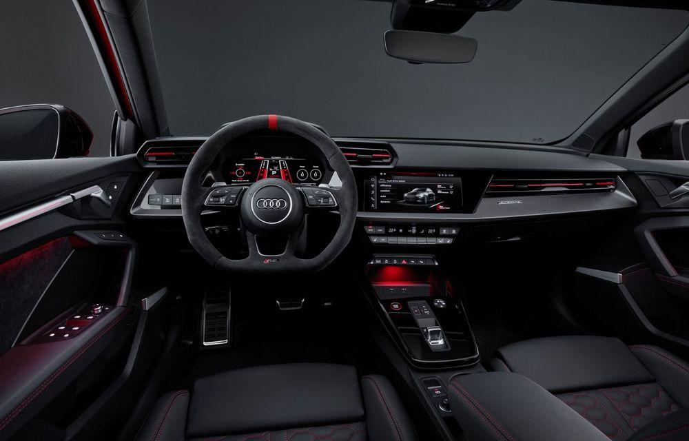 Noua generație Audi RS3 Sportback și Sedan: 400 CP și sistem de vectorizare a cuplului - Poza 24