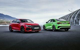 Noua generație Audi RS3 Sportback și Sedan: 400 CP și sistem de vectorizare a cuplului