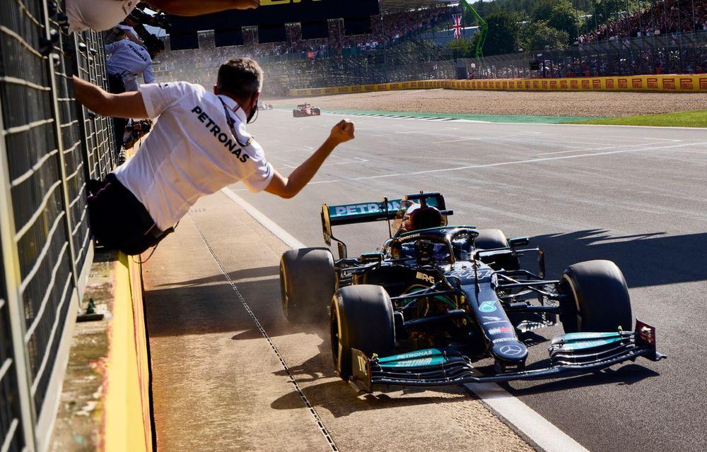 Lewis Hamilton câștigă la Silverstone, după un incident controversat cu Max Verstappen - Poza 1