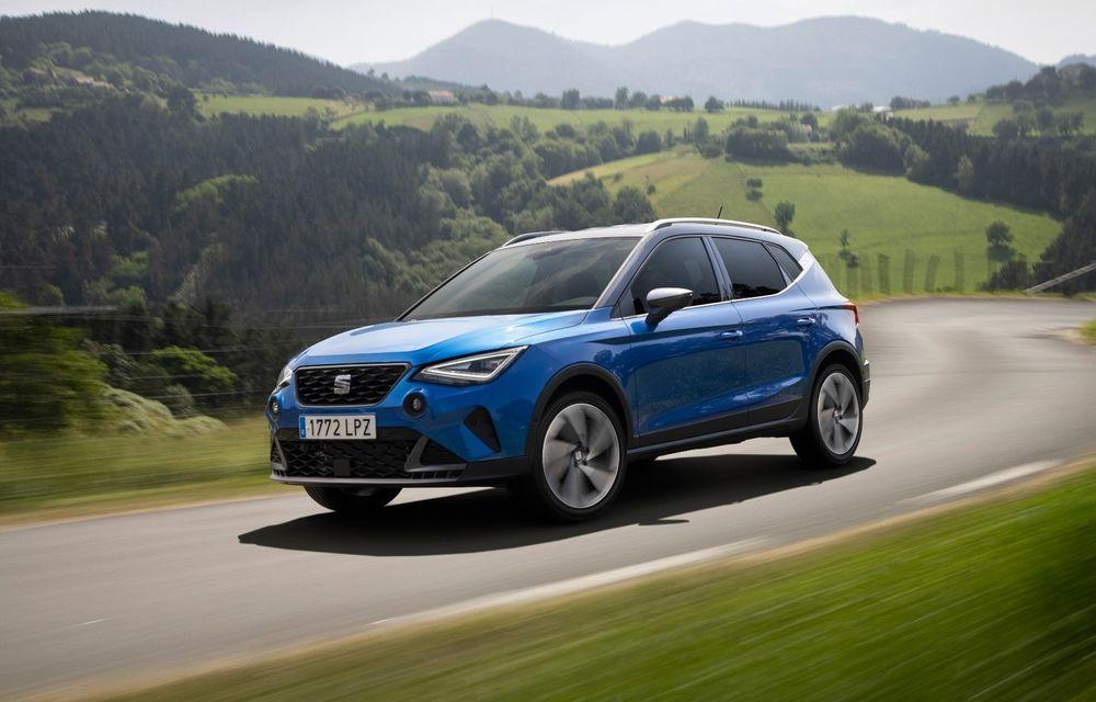 Prețuri Seat Arona facelift în România: pornește de la 16.600 de euro - Poza 1